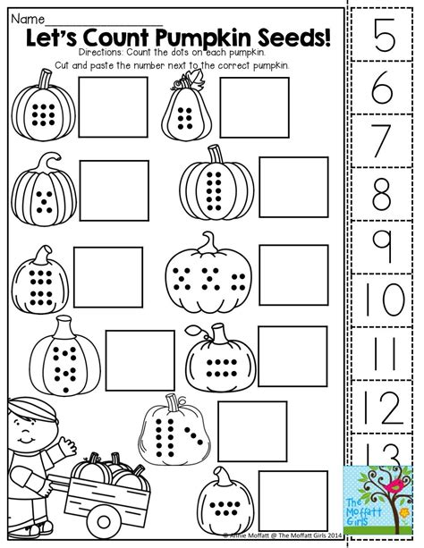 free printable preschool cut and paste activities count cut and paste tons of fun printables october