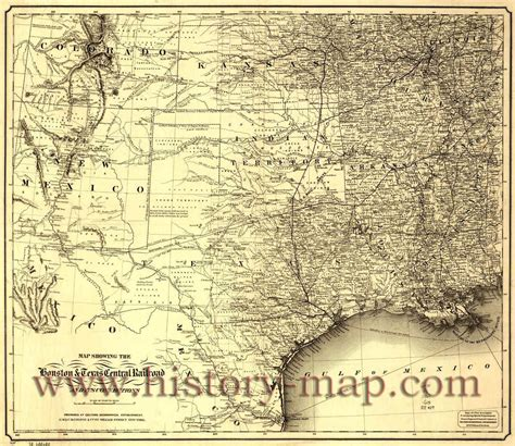 texas history maps texas map