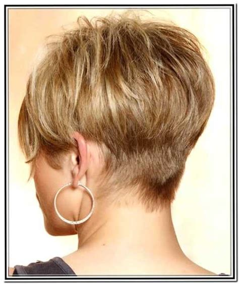 short hairstyles from the back for women over 50 le 30 migliori viste posteriori dei tagli corti e cortissimi