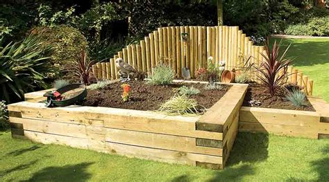 How To Lay Sleepers by Wooden Sleepers Add Character And Style To Gardens