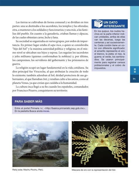 libro de historia de sexto grado del 2016 historia sexto grado 2016 2017 online p 225 gina 36 de 136