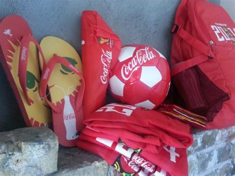 Sandal Impor Lisensi Coca Cola Made In Brazil Coca Cola 2014 Fifa World Cup Giveaway Ends 7 6