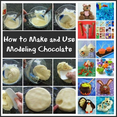 How To Make Chocolate Decorations by Modeling Chocolate Recipe Clay Or Chocolate Clay