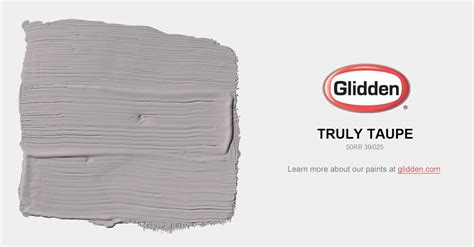 truly taupe paint color glidden paint colors