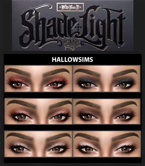 shadow and light palette hallowsims kat von shade light palette maquillaje