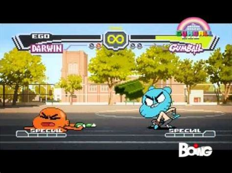el increible mundo de gumball pelea darwin vs gumball el increible mundo de gumball pelea darwin vs gumball