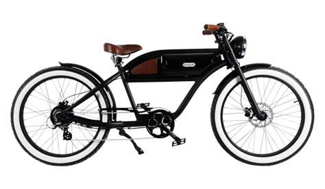 E Bike Classic 2 by Quot Greaser Quot Das Vintage E Bike In Mattschwarz Alle