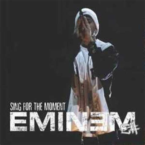 eminem sing for the moment sing for the moment wikipedia