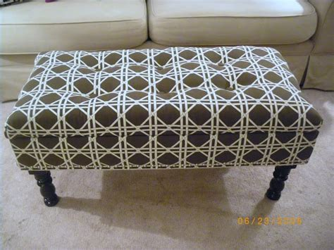 homemade ottoman diy ottoman dwell pinterest