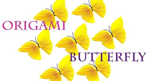 Origami Butterfly Pdf - origami best origami butterfly ideas on easy origami