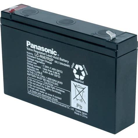 Panasonic Aki Kering 12 V 7 2 Ah jual aki baterai vrla ups kering mf battery panasonic