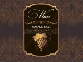 wine label templates wine label template doliquid