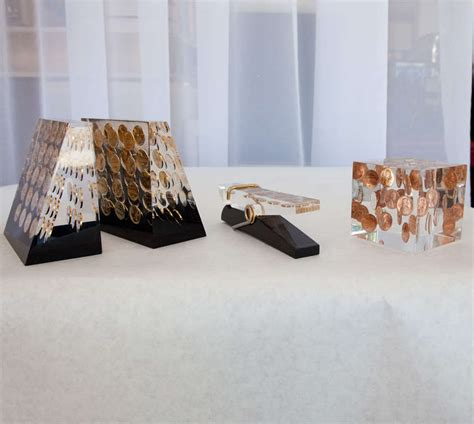 set of vintage lucite desk accessories at 1stdibs