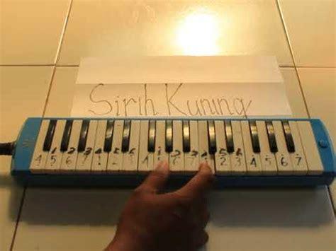Pianika Cover sirih kuning pianika cover