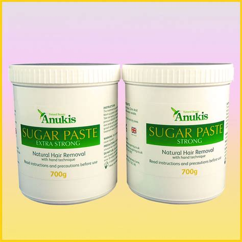 anukis sugar wax set sugaring at home hair