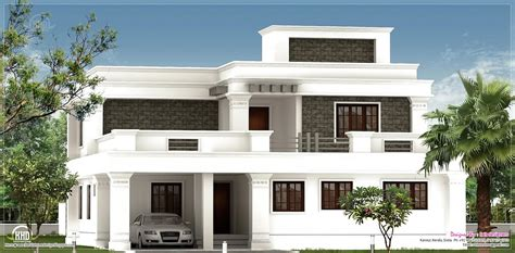 home exterior design kerala flat roof homes designs flat roof villa exterior in 2400
