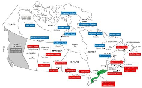 map of canada with provinces and cities 15 interesting maps that will change the way you see canada