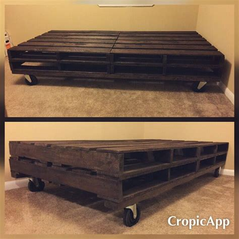pallet twin bed diy twin pallet bed weekend projects pinterest beds