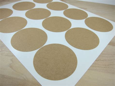 printable brown kraft tags round brown kraft labels 2 5 inch circles by snugglymonkey