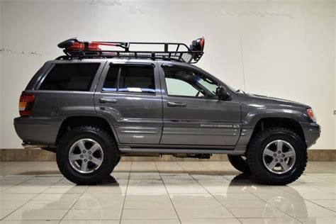 2003 Jeep Grand Roof Rack by 1j8gw68j22c241050 2002 Jeep Grand Overland Quadra Drive Lifted 4x4 Roof Rack Offroad