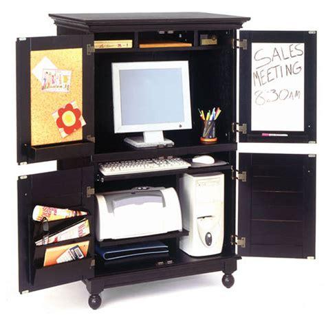 hton computer armoire black walmart