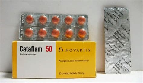 Cataflam 50mg Tablet Ecer 1 Tablet cataflam tablets