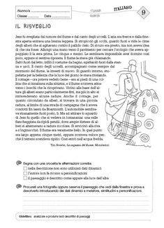 test italiano interno risultati risultati immagini per schede didattiche testo descrittivo