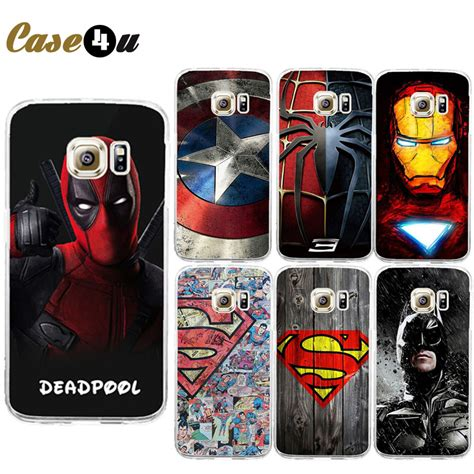 Casing Samsung S4 Spiderman4 Custom Hardcase for galaxy s7 edge deadpool pc coque for samsung galaxy s6 s7