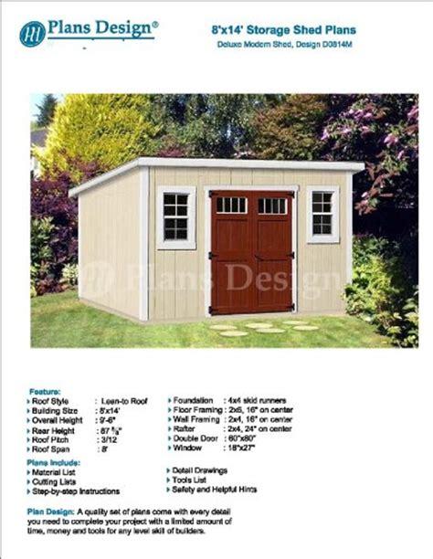 diy storage shed plans 8 x 14 haddi