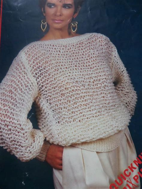 free knitting pattern jumper dk knitting pattern women ladies easy knit jumper sweater dk