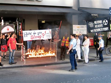 Burning Bed by Beverley Four Mile Uranium Mine Australian Nuclear And