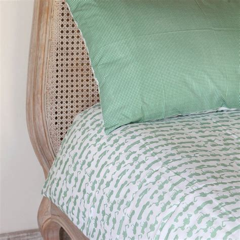 Single Duvet On Cot Bed green tractor single and cot bed duvet set by em lu notonthehighstreet