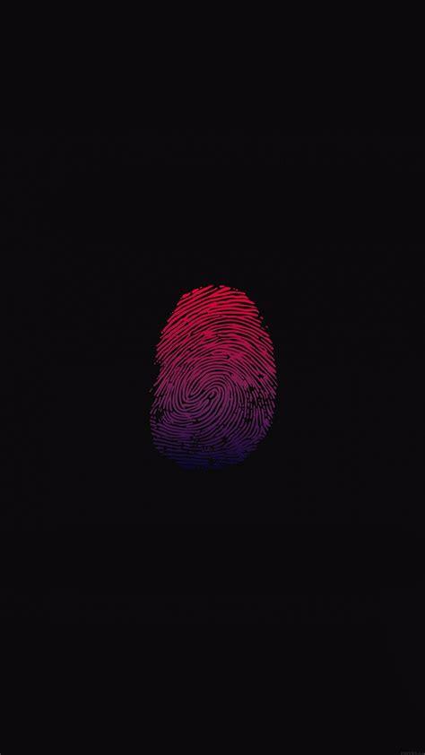 papersco iphone wallpaper af finger print unlock