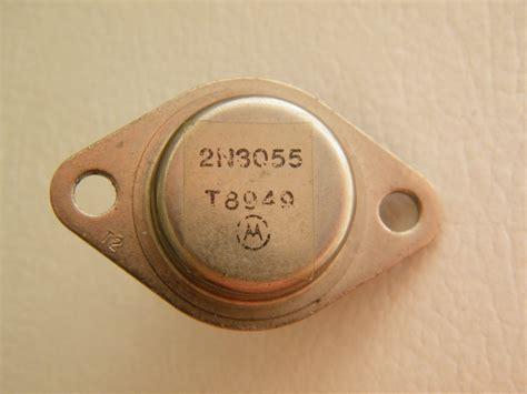 jual transistor 2n3055 motorola transistor potencia 2n3055 motorola lote antigo r 19 00 em mercado livre
