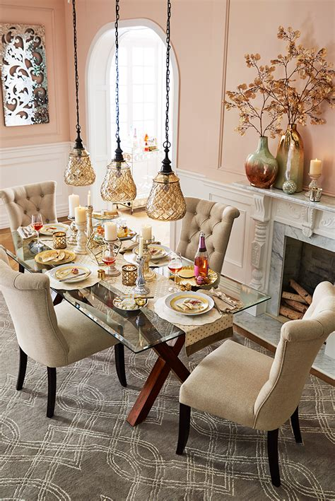 dining room table centerpieces knowledgebase elegant touches add up to a thanksgiving dinner that