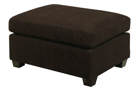 brown fabric ottoman abelone brown fabric ottoman steal a sofa furniture