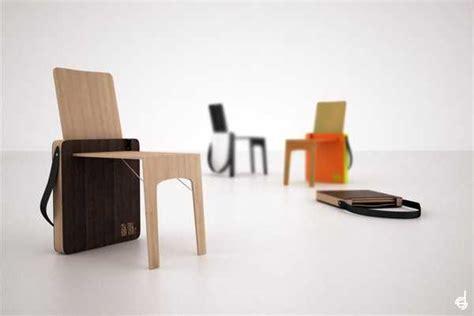 portable folding chair design bag chair  stevan djurovic