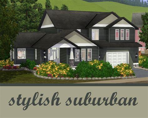 4 Car Garage House Plans mod the sims the stylish suburban