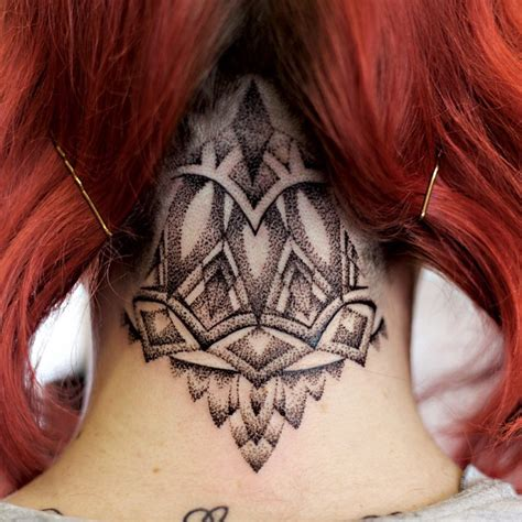 45 back of the neck tattoo designs amp meanings way to the