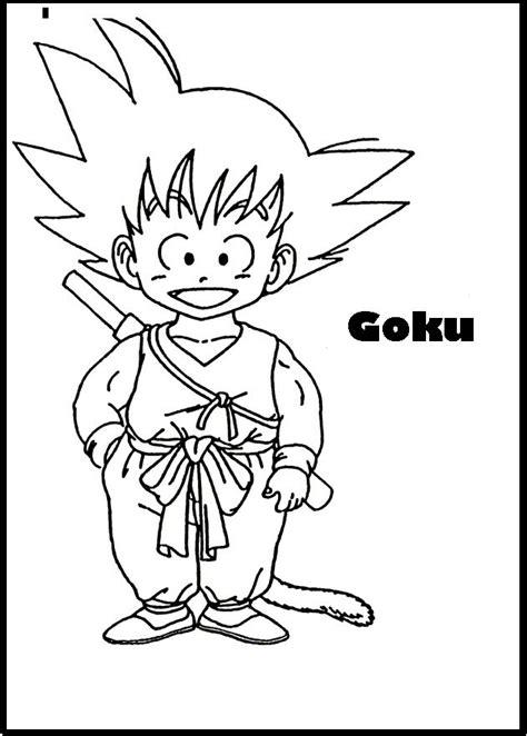 imagenes de goku gt para colorear imagenes de goku en caricatura para colorear imagenes