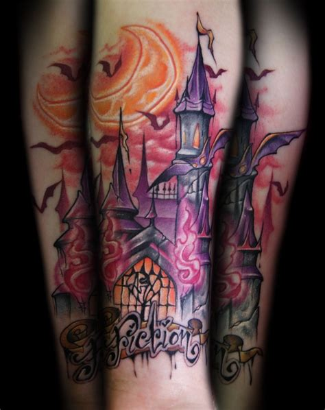 medieval castle tattoo designs fiction castle by doty tattoos