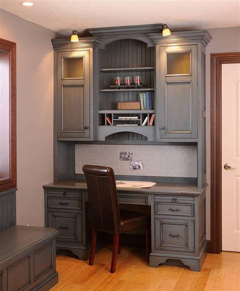 kitchen desk design mullet cabinet small work space
