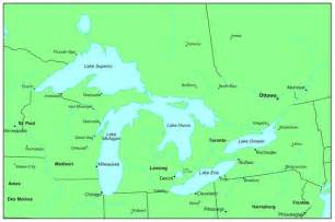 united states map 5 great lakes great facts about the five great lakes