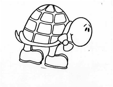 turtle images cartoon coloring home