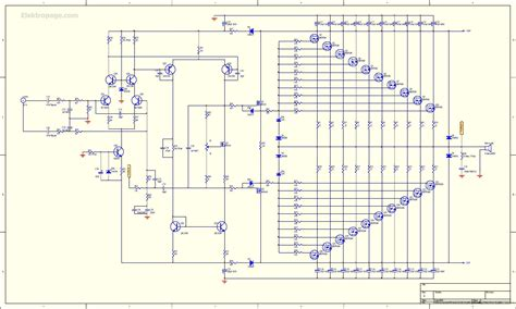 mosfet transistor lifier 1kw rms mosfet lifier 1kw rms mosfet lifier shematic schematic circuits elektropage