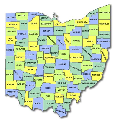 map of showing counties state map of ohio state map memes