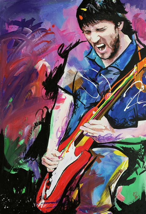 Online Home Plans by John Frusciante Painting By Richard Day