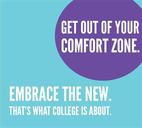 Get Out Of Comfort Zone by Get Out Of Your Comfort Zone Student Affairs