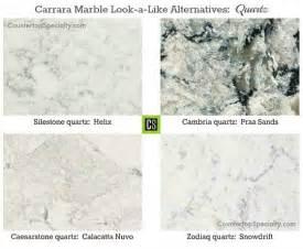 Calacatta Marble Vanity Top Which Granite Looks Like White Carrara Marble