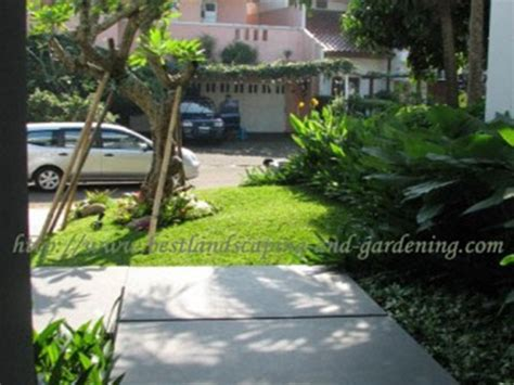 Nomor Rumah Kayu Pot Landscape landscape dan gardening jasa desain taman dan pengerjaan